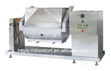 Steam Heating Horizontal Vacuum mixing cooker for jam and sugar