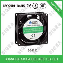 SG8025HA1 impedance protected cabinet cooling fan