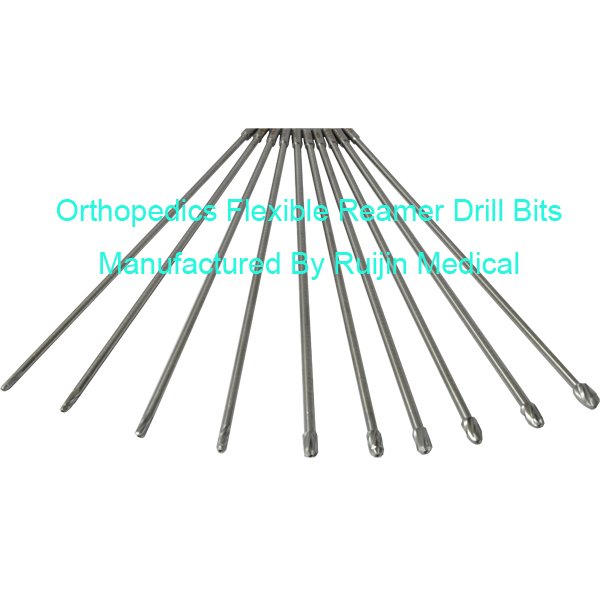 Orthopedics Flexible Reamer Drill Bits Names Of Surgical Instruments