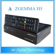AIR DIGITAL Zgemma H5 HEVC/H.265 combo DVB-S2+DVB-T2/C satellite TV receiver