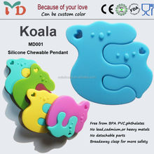 Safety BPA Free Silicone Mother and Child Jewelry