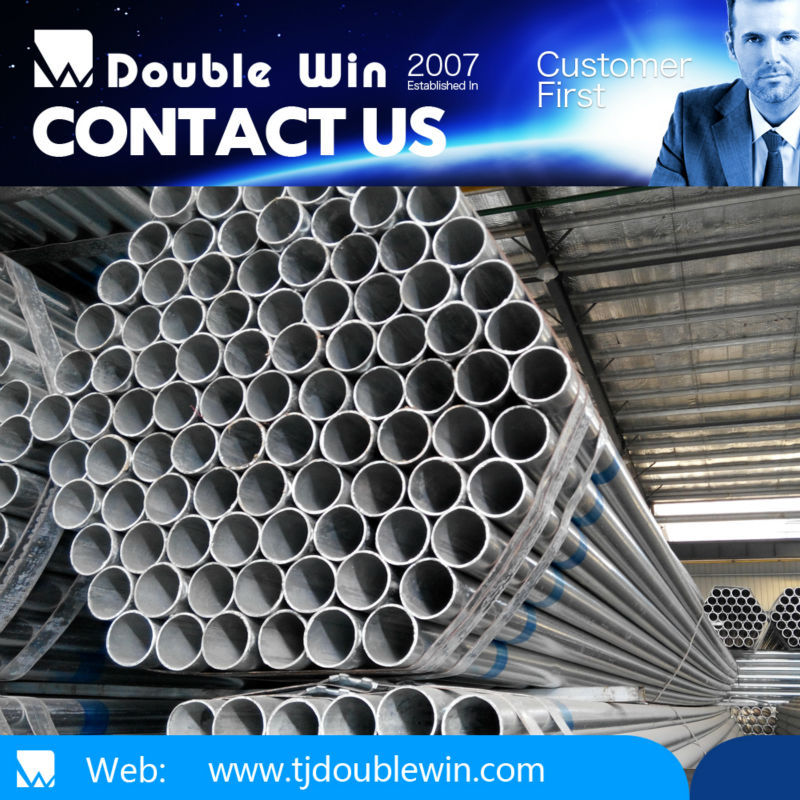 4 inch 3.8mm galvanized iron tube/Q235 48mm Scaffolding Hot Dip Galvanized Steel Pipe