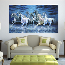 Canvas Picture Running Horse Printed painting on canvas wall picture art print Home Home Decoration Wall Art
