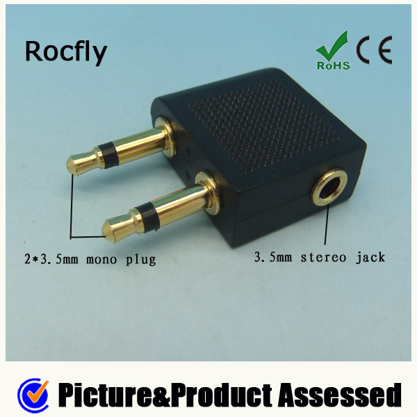 splitter cable adapter 2.5mm to 3.5mm adapter headphone jack cheapest price on sale dhl