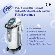 Manufacture newest design lwithout hair diode+ipl epilight no hair machine