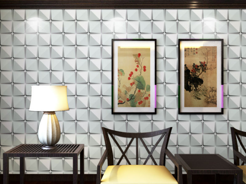 cosmos hot selling design in 2014 sticky paper to cover wall with 3d wall panel