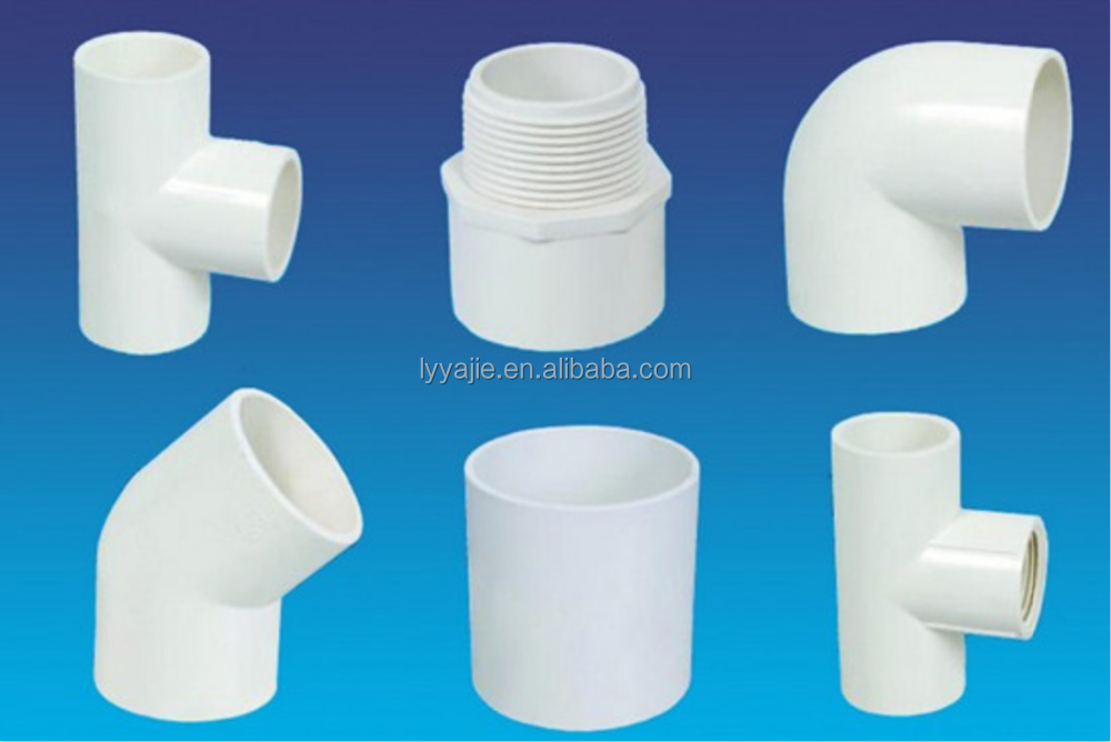 Yagene brand names of PVC pipe fittings