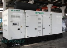 910kVa super silent Electricity Generation with Perkins Engine
