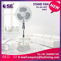 height adjustable cooler stand fan for air cooling copper motor with fuse