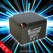 12V 24AH back up solar battery