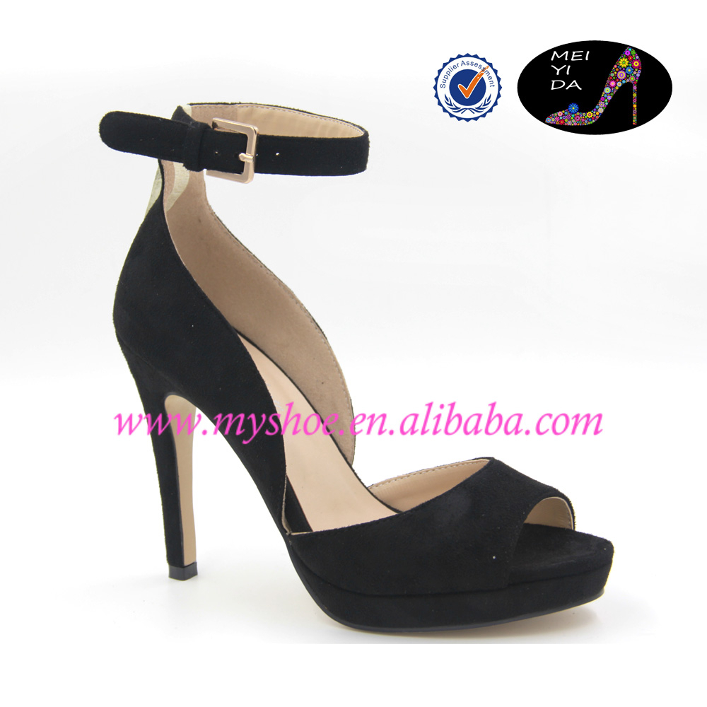 NEW Fashion Elegant High Heels Black Stiletto Pumps Dress Shoes