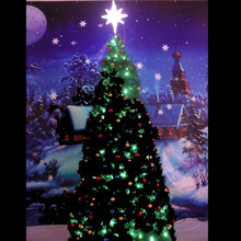 Lighted Christmas Cone Tree