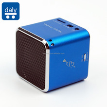 CE Cube MP3 Speaker Music Angel With FM Radio TF Card And USB Disk