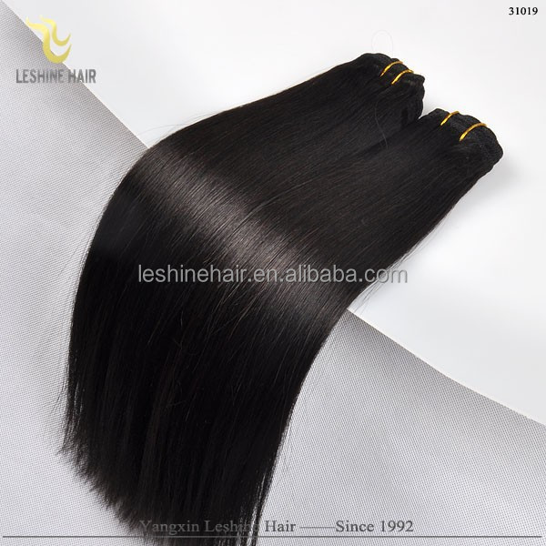 Remy Hair Weave Good Feedback High Quality Unprocessed No Tangle Dyeable yaki pony for braids