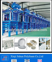 JISHUN EPS Foam Fish Box ,disposable food container Making Machines for vegetable fruit