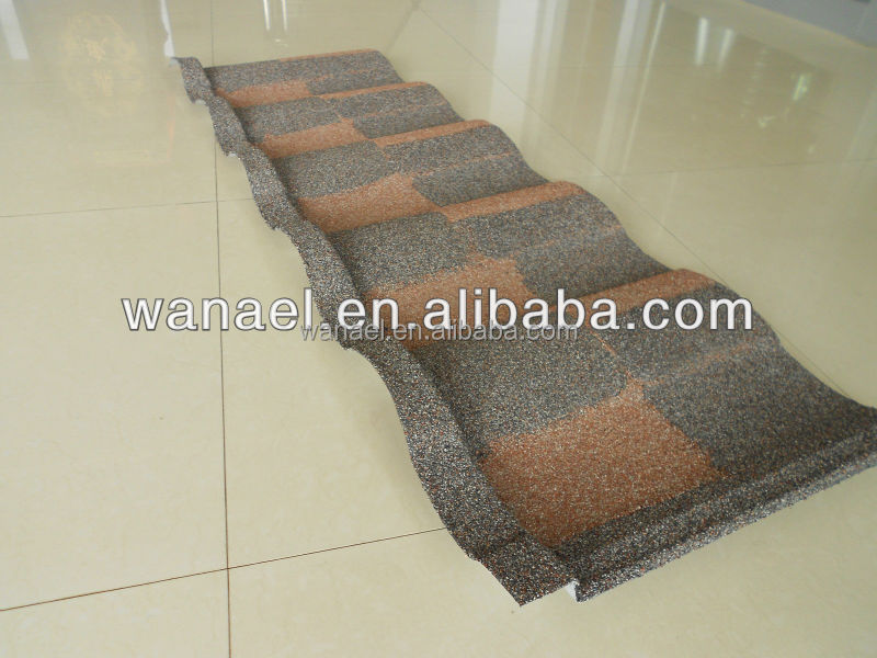 1340*420mm rubber roof tiles /2013 new building construction materials/glazed roof tiles