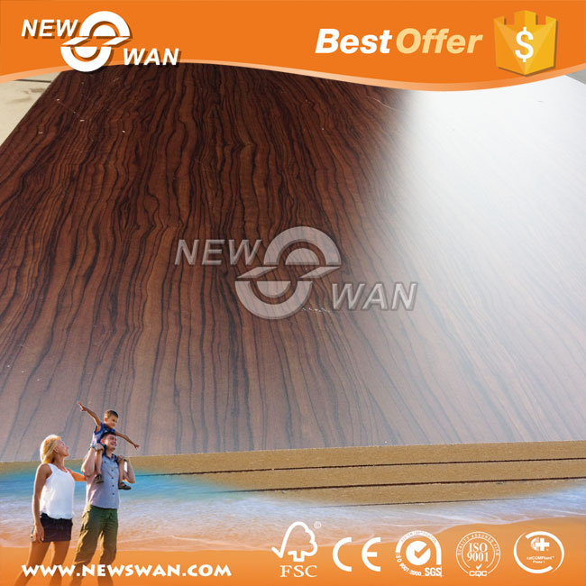 Textured MDF Wall Panels / Melamined Sanding MDF