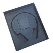 Custom Hardcover Gift Rigid Lid Off Headphone Packaging Box