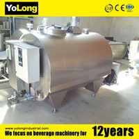 1000L stainless steel used milk cooling tank for sale