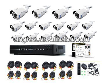 cctv camera kit 16 ch complete video surveillance system