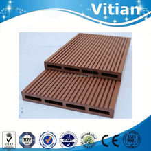 extruded plastic composite decking wpc floor