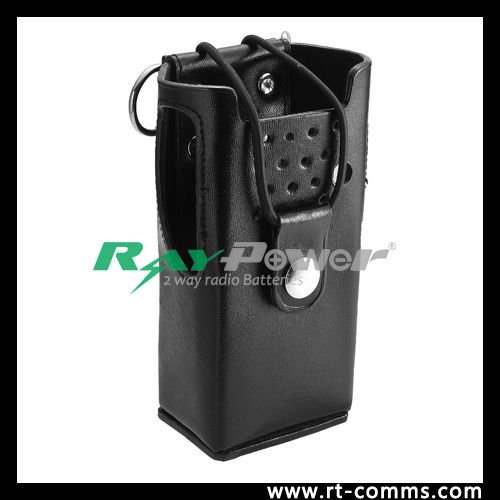 Hard Leather Carrying Two way radio Leather Carring Cases for CP040/CP140/GP3688