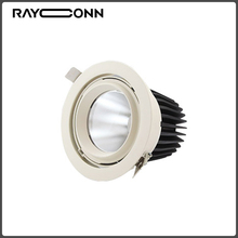 Wholesale price COB 40W white and black led garden spotlight
