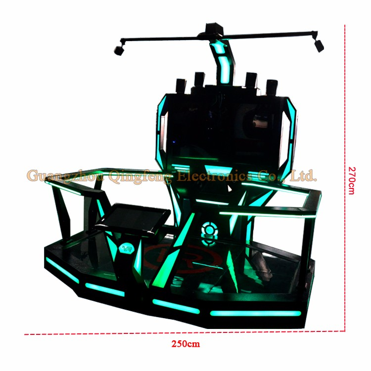 Adventure Park 9D VR Walking Shooting Car Racing Game Simulator arcade game machine