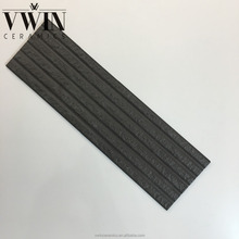 Exterial Balcony Black Stone Heat Resistant Wall Designs Ceramic Tiles Brick