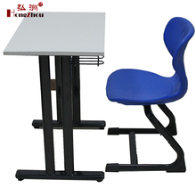 Modern Single Furniture School Children Desk and Chair for High School