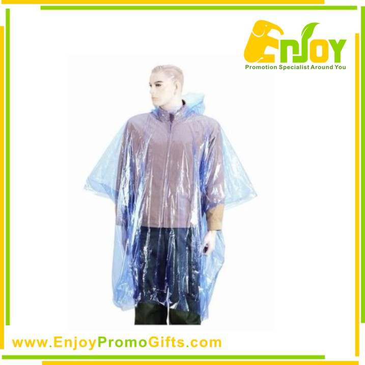 Unique And Fashional Style Plastic Disposable Poncho