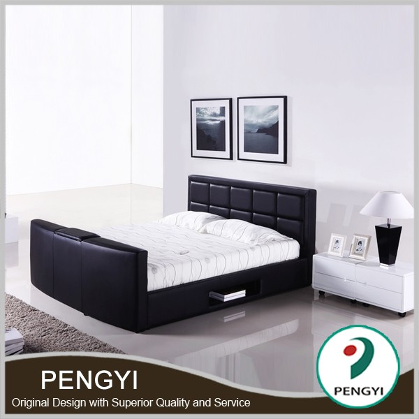 bed Tv In Footboard,Tv Bed,Bed Tv Lift