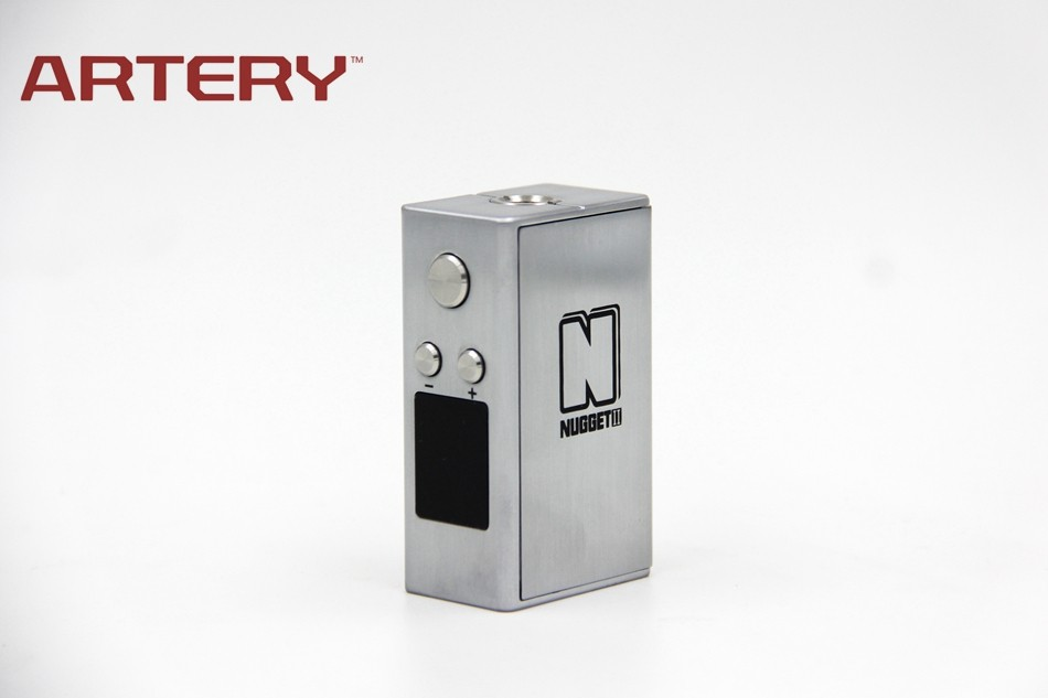 Artery Electronic cigarette 50W Nugget V2 Box Hot Sale in 2016 Vape Mod