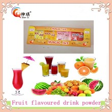 adding 2L water instant natural fruit flavor juice drink powder factory