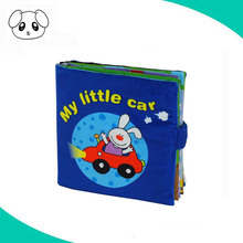Customized learning baby fabric cloth sample book manufacturer