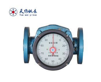 light weight aluminum diesel oil flow meter