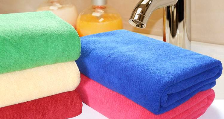 Cheap quick dry super soft micro fiber bath towel with high water absorption