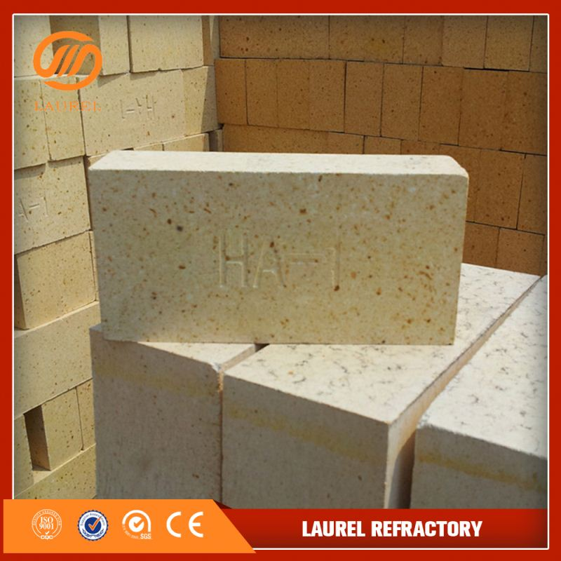 spalling resistant high alumina bricks of bauxite for open hearth furnace