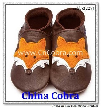 2017 new year top selling DESIGN XIAMEN COBRA top quality best seller 100% genuine leather soft baby shoes