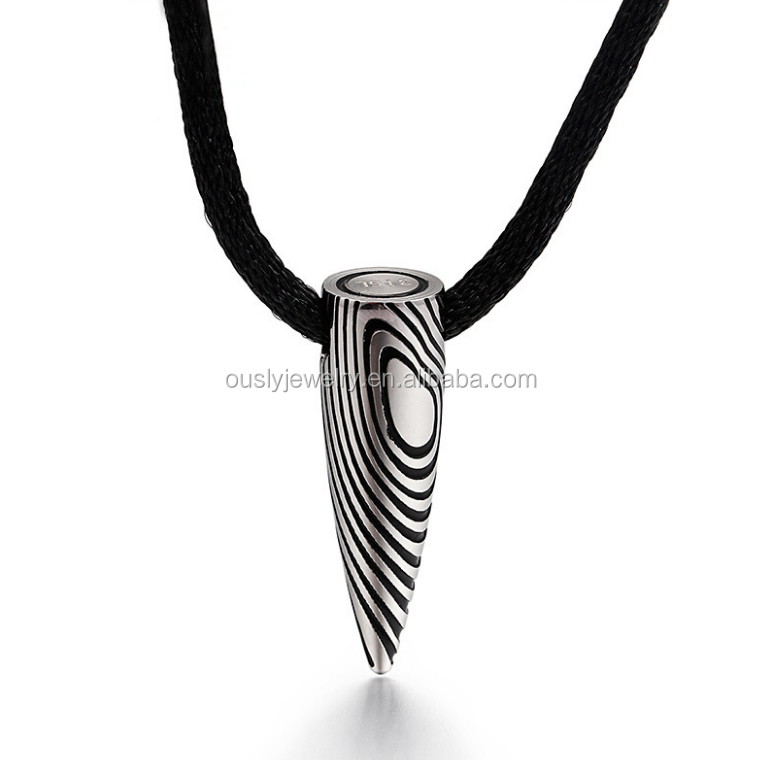 Hot Movie Wolf Warriors II Same Style Bullet Jewelry Necklace Pendant