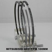 Hydraulic Piston Ring Set 4D31T Engine Parts ME997398
