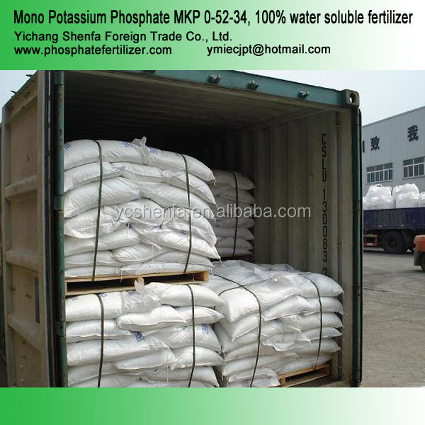 Mono Potassium Phosphate MKP 0-52-34 100% water soluble fertilizer