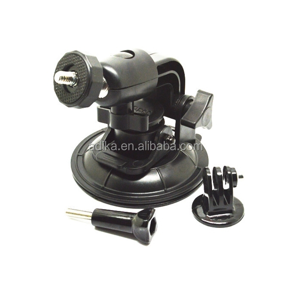 professional for gopro mount 9CM diameter suction cup for Gopro Hero 3+/3/2/1 for gopro accessories