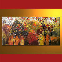 Wholesale Handmade Oil Painting Pictures Of Tree