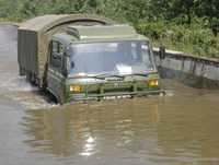China brand military motor lorry EQ2162G