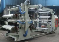 4/Four Colors PE Stretch Film printing plastic bag printing machine