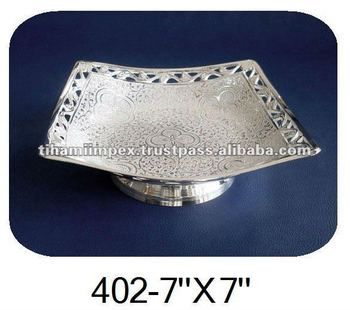 Embossed Silver Dish, Silver Bowl, Corporate Gift, Wedding Gift.