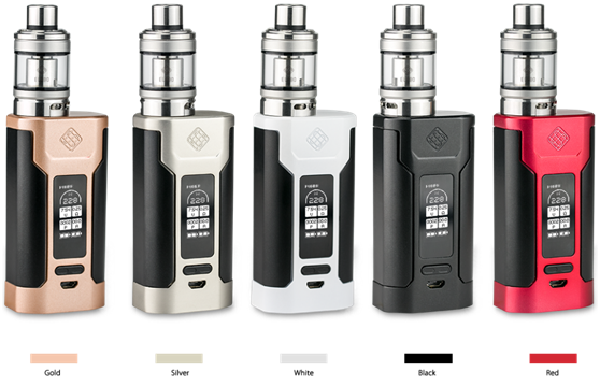 Most Popular Wismec PREDATOR 228 box Dual 18650 Mod Kit with 228W Max Output