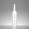 Custom frosted crystal white glass long neck bottle manufacturer