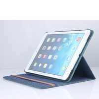 New Product Creative Double Layer Stand Leather Case Cover For iPad 4 3 2 Factory Price